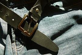 ceinture en cuir vestimentaire