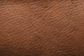Pièce de cuir avec un grain épais