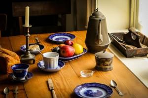 art de la table en cuir